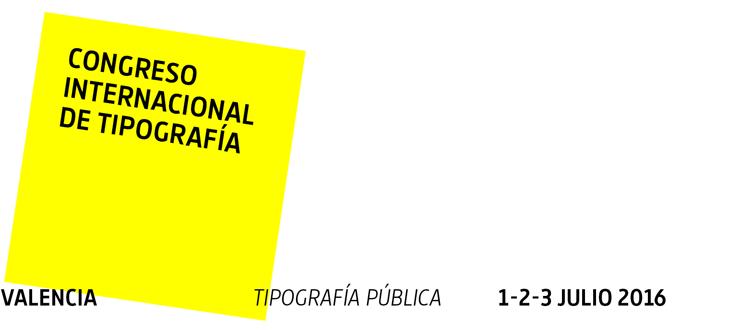 Congreso Internacional de Tipografía