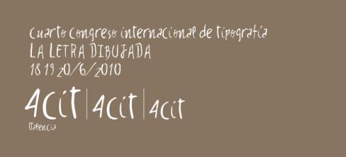 congreso de tipografía 4cit
